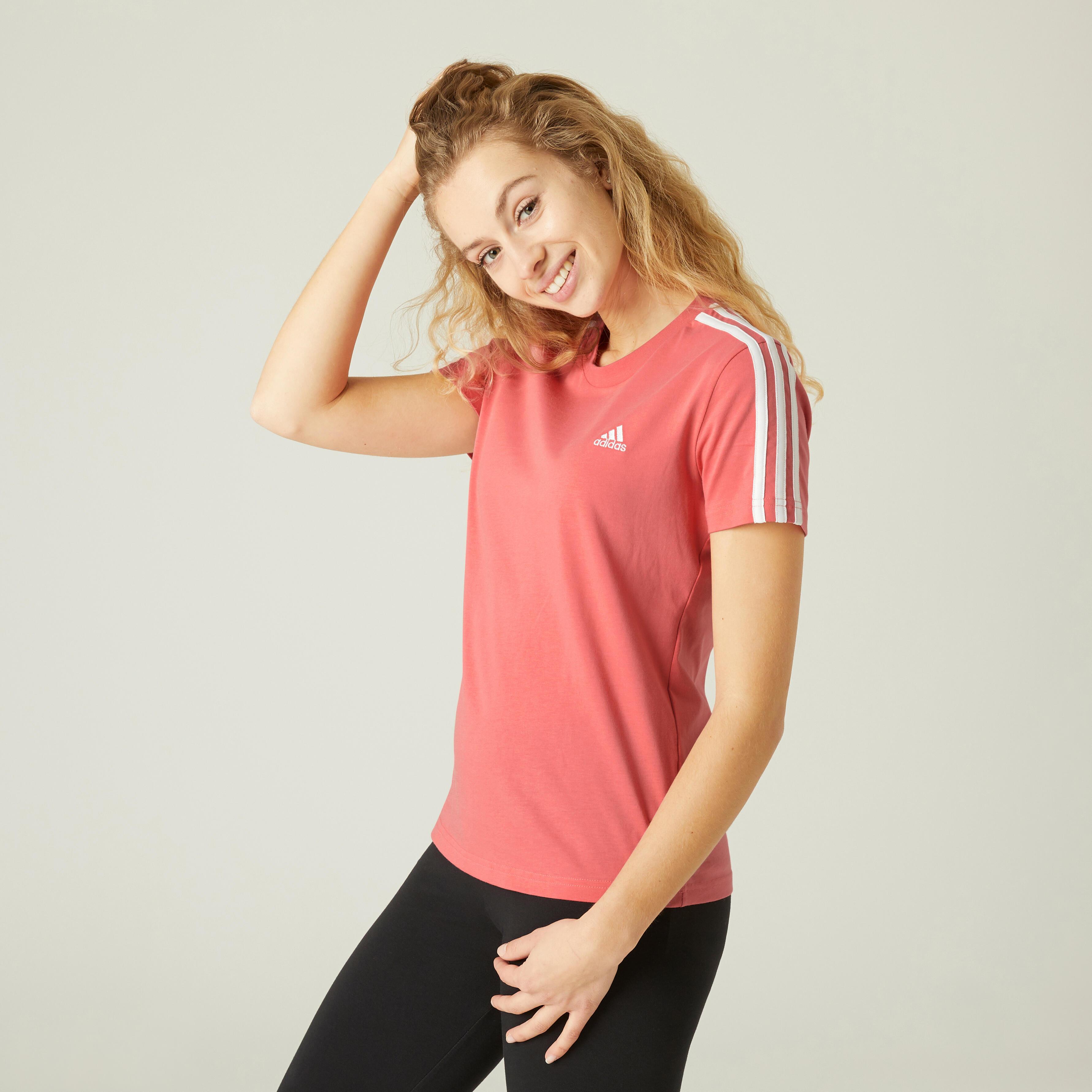 Tricou Adidas Fitness Damă imagine