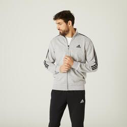Tuta uomo Adidas grigio melange