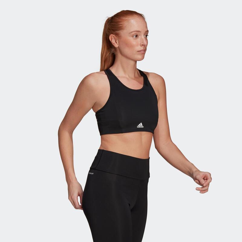 Brassière Adidas fitness femme noire
