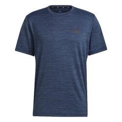 T-shirt de Cardio-training Adidas Azul Mesclado