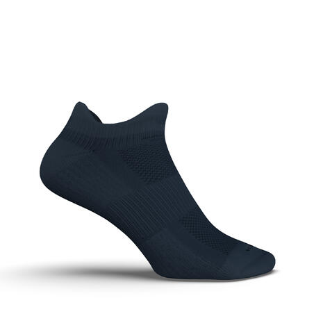 RUN500 INVISIBLE RUNNING SOCKS - SLATE BLUE X2