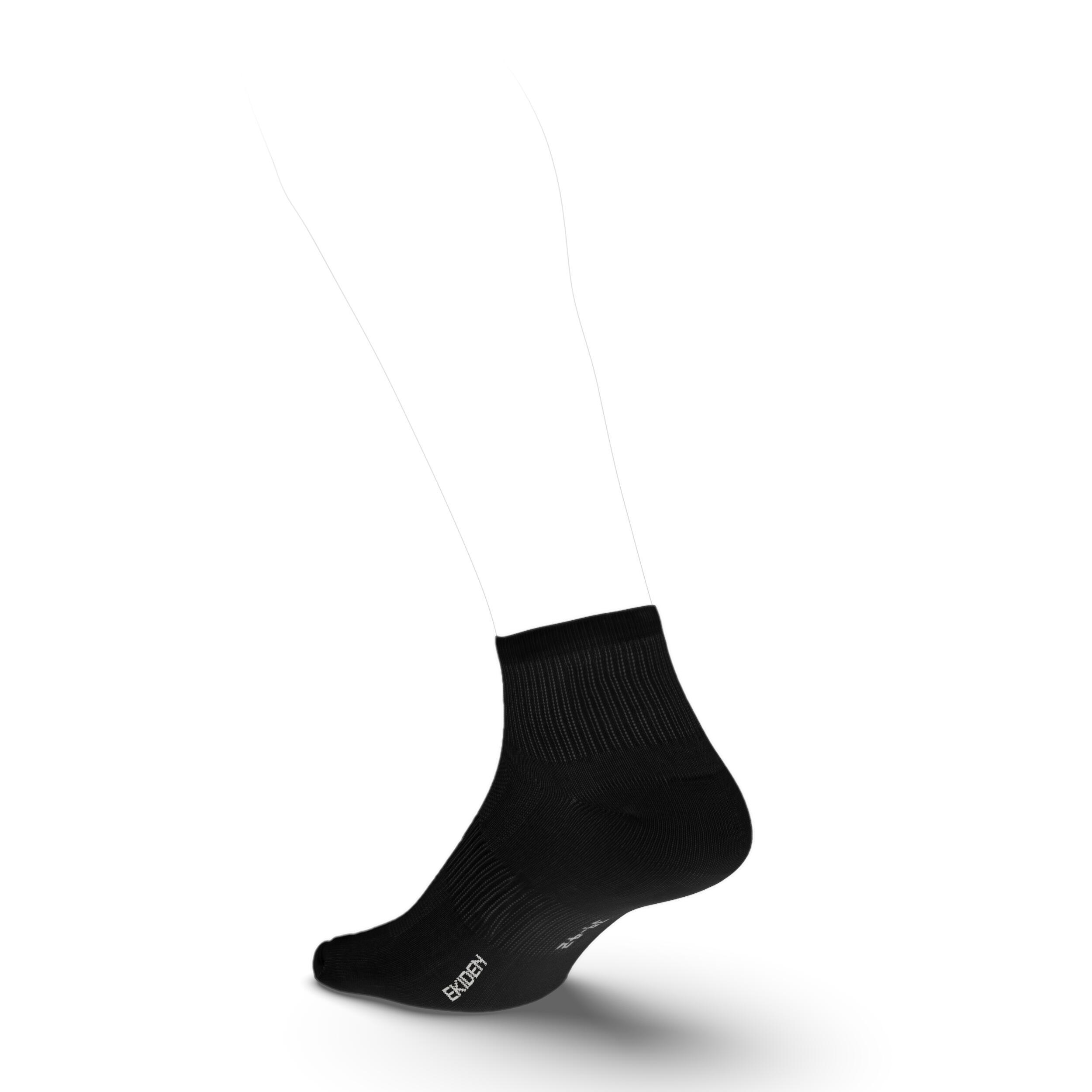 Set Șosete Alergare RUN100 x 3