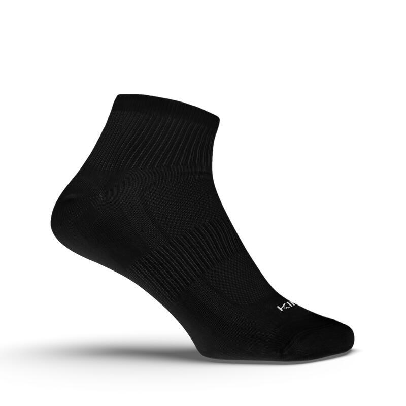 ถุงเท้าใส่วิ่งรุ่น EKIDEN 3 คู่ (สีดำ)