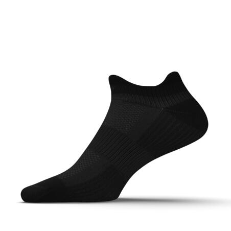 ECO-DESIGN RUN500 X2 INVISIBLE FINE RUNNING SOCKS - BLACK