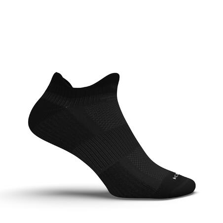 Calcetines Running RUN500 Negros Invisibles Ecodiseño x2