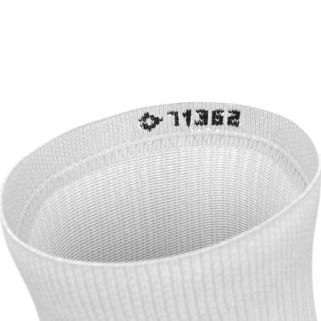 ECO-DESIGN RUN500 X2 INVISIBLE MID-HEIGHT RUNNING SOCKS - WHITE