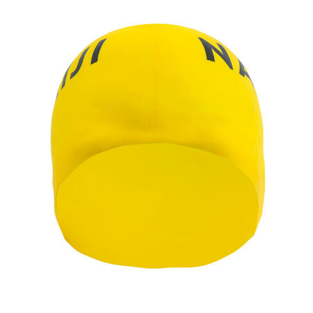 Silikoninė maudymosi kepuraitė, juoda