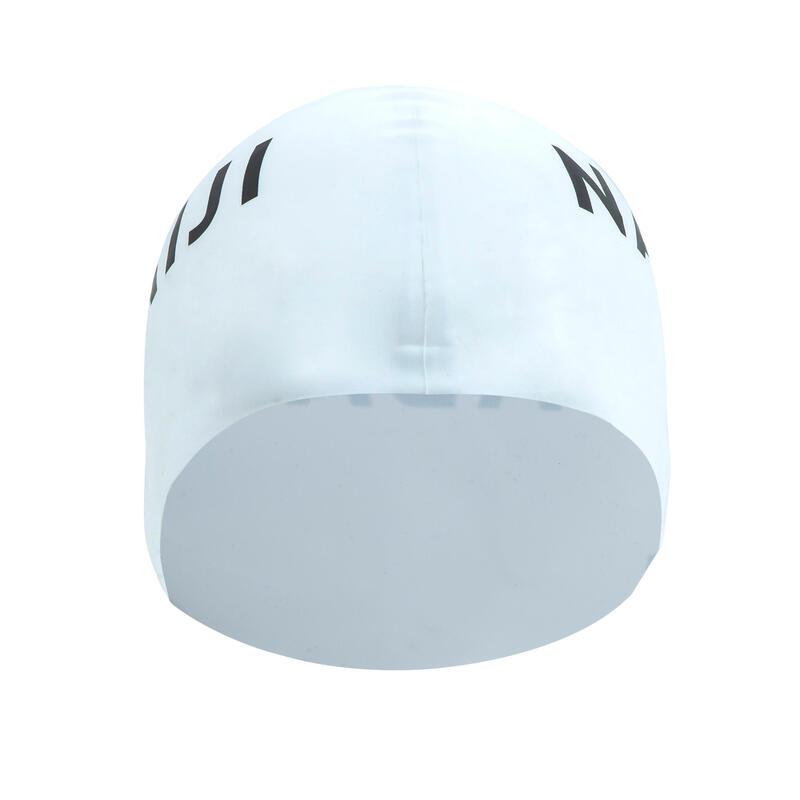 หมวกว่ายน้ำซิลิโคน (สีขาว)