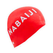 Silicone Swim Cap - Red