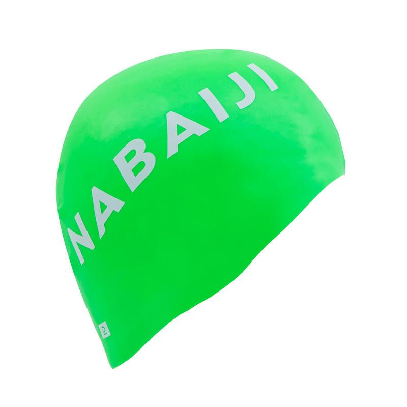 Silicone Swim Cap - Green