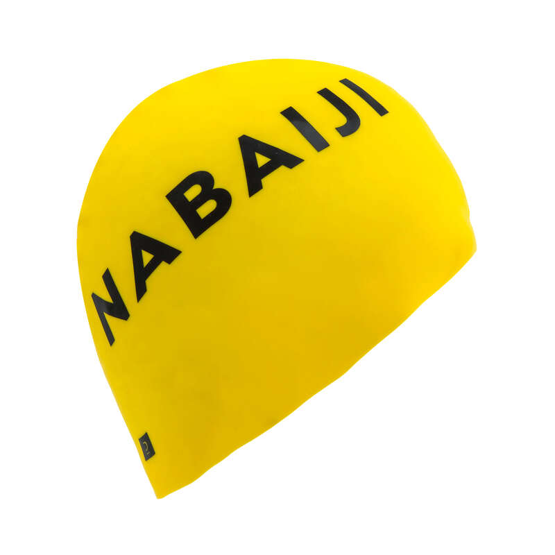 Úszósapka Triatlon - Szilikon úszósapka, sárga  NABAIJI - Triatlon felszerelés