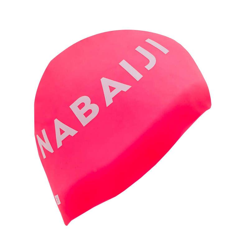 Úszósapka Triatlon - Szilikon úszósapka, rózsaszín NABAIJI - Triatlon felszerelés