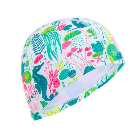 500 silicone mesh swimming cap