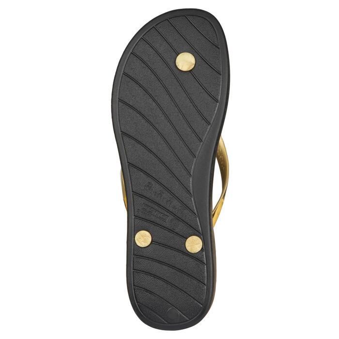 女款夾腳拖鞋500 -黑色