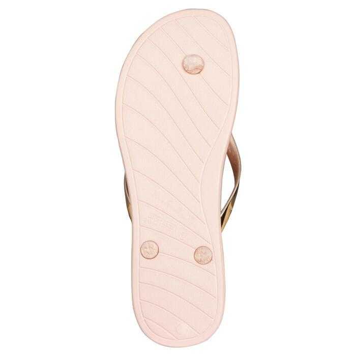 女款夾腳拖鞋500 -粉紅色