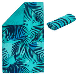 Swimming microfibre towel size XL 110 x 175 cm - printed stripes