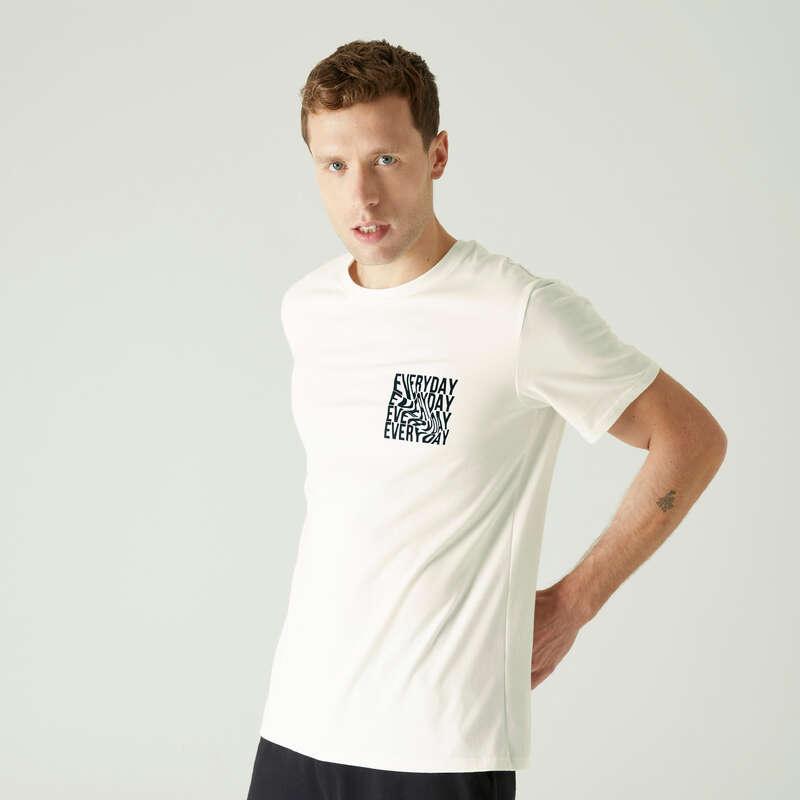 FÉRFI PÓLÓ, RÖVIDNADRÁG Fitnesz - Férfi póló 500-as NYAMBA - Fitnesz
