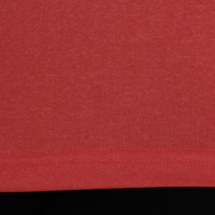 Camiseta de voleibol mujer V100 rojo