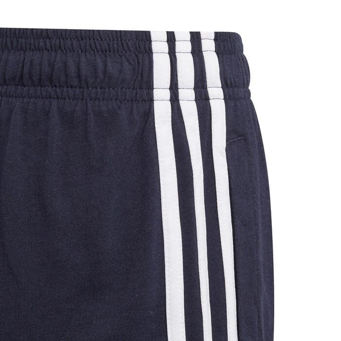 Shorts 3 Streifen Kinder marineblau