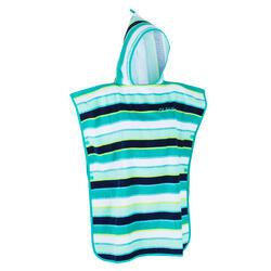 Surfponcho voor kinderen 500 (110 tot 135 cm) Lines