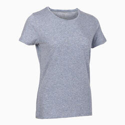 Women's Regular T-Shirt 500 - Blue