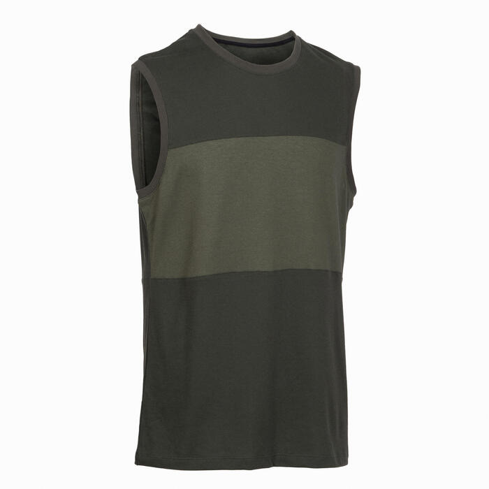 Men's Sports Tank Top - Dark Green