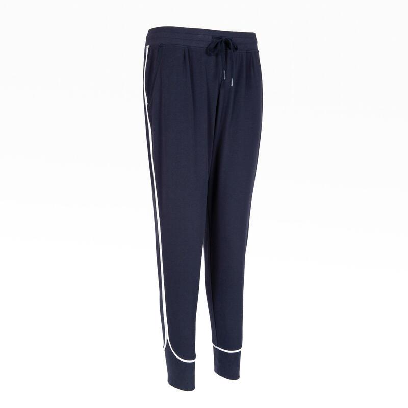 女款慢跑長褲500 - 軍藍色