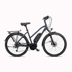 E-Bike 28 Zoll Trekkingrad Riverside 500 Perf Line Damen 400 Wh anthrazit/blau