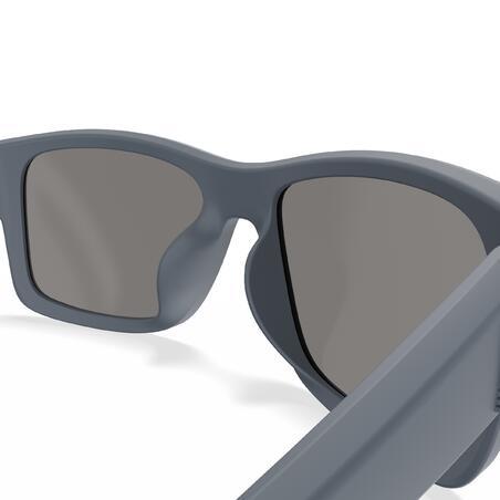 Sailing Floating Polarized Sunglasses 100 Size S - Dark Grey