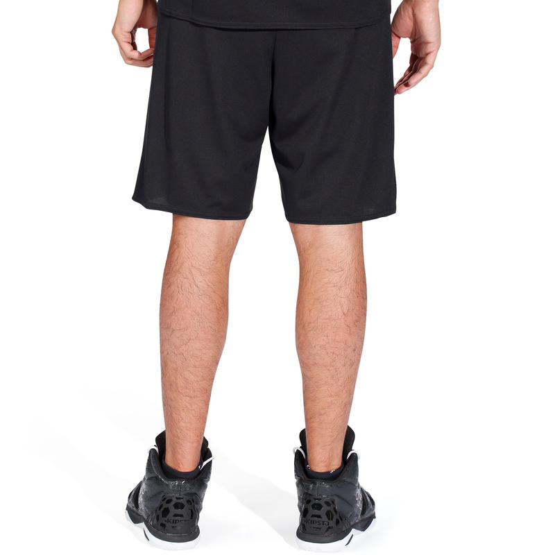 Short de basketball adulto B300 negro