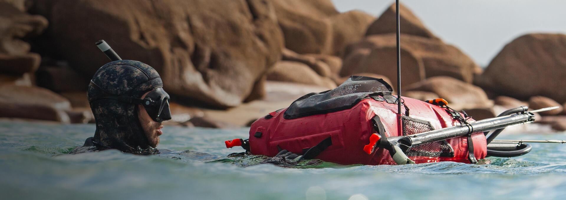 sac étanche chasse sous-marine