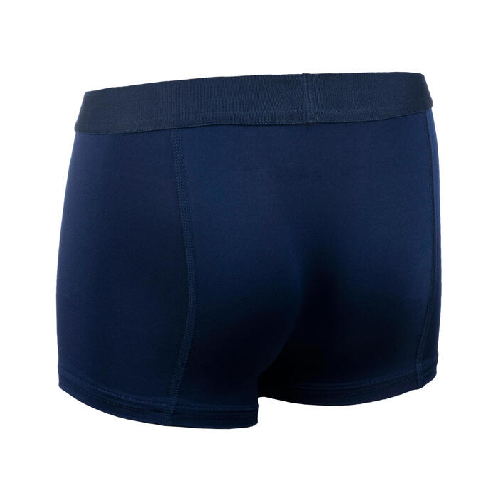 AT 500 Boy's breathable running boxers - navy blue