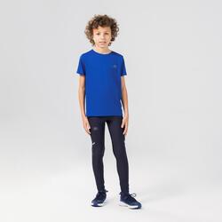 兒童透氣田徑T恤AT 100 - 電光藍