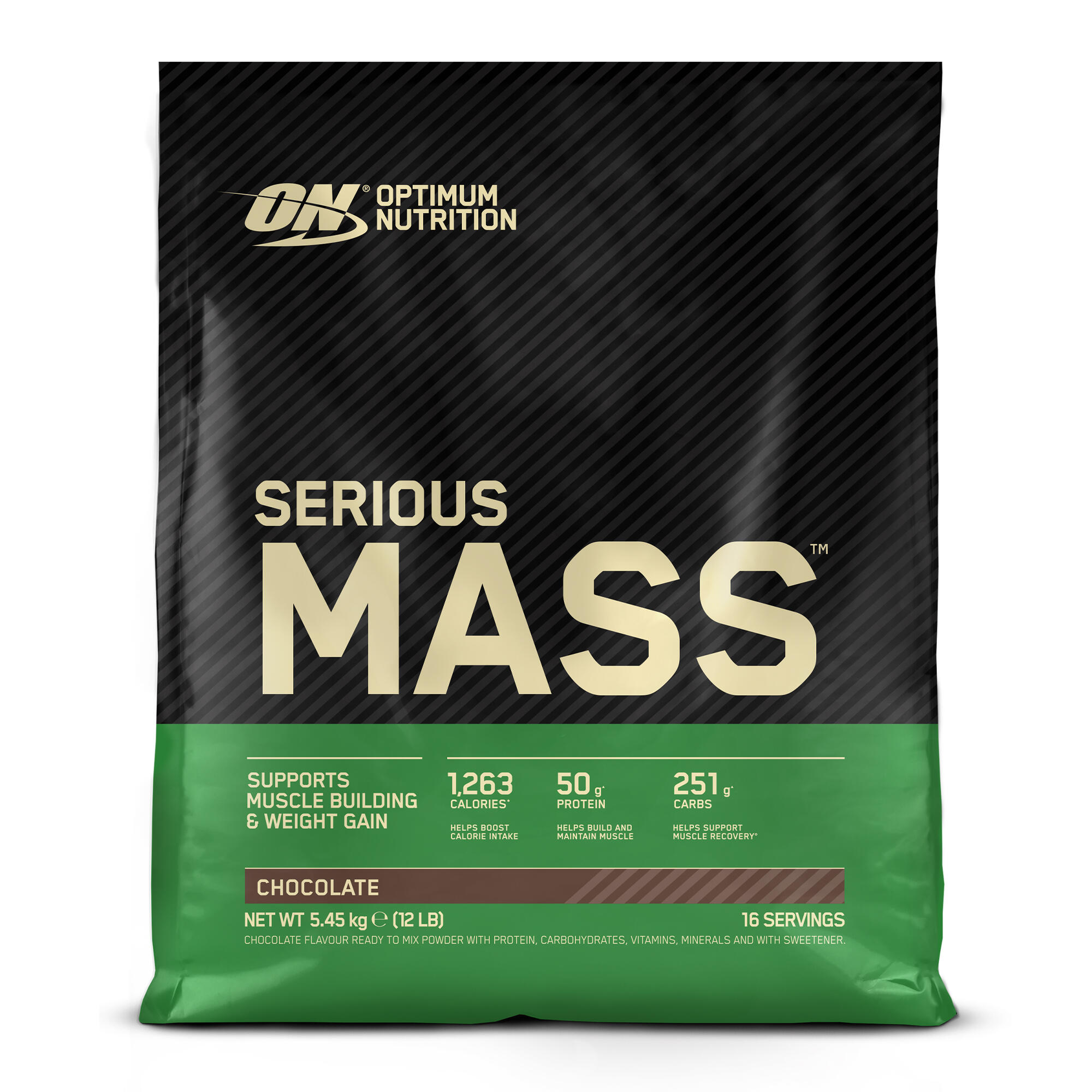 Serious Mass Ciocolată 5,4kg de la OPTIMUM NUTRITION EM