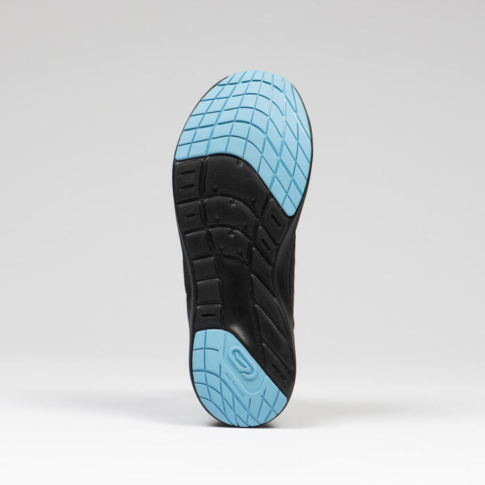 Kids' Running and Athletics Shoes AT Easy - black golden