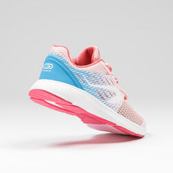 Kids' Running and Athletics Shoes AT Breath - pink and blue