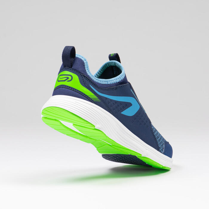 Kids' Running and Athletics Shoes Run Support Easy - blue and green