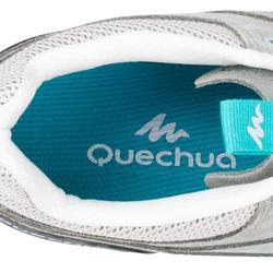Chaussures de randonnée nature NH500 2018 gris vert femme
