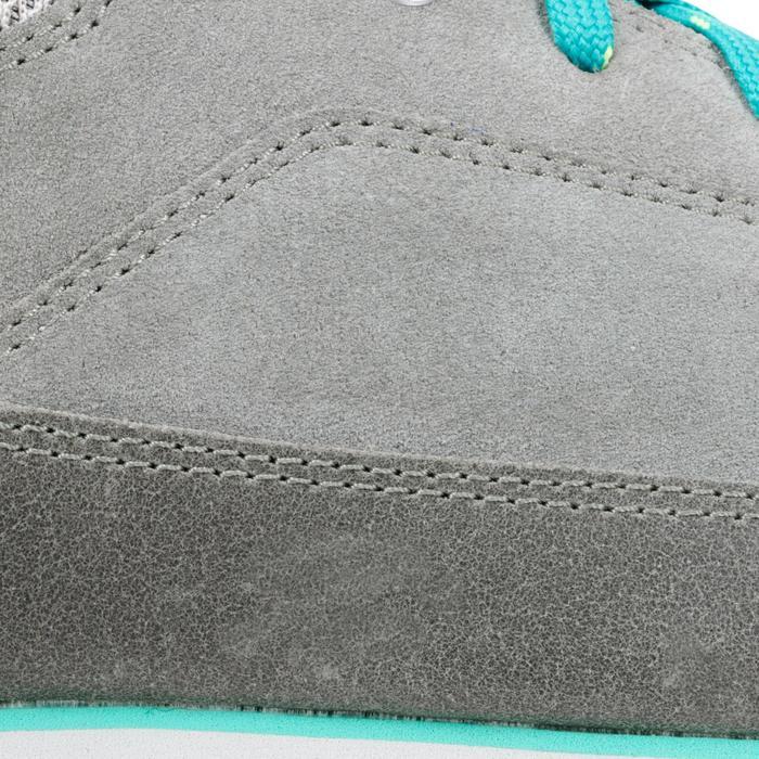 Wandelschoenen voor dames NH500 grijs/groen