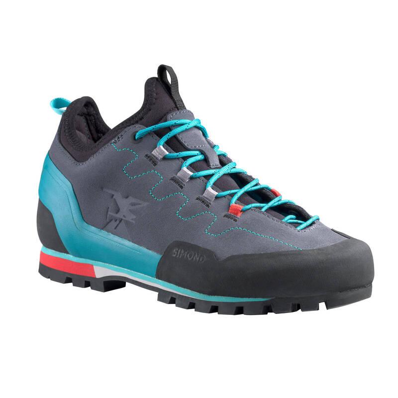 PŘÍSTUPOVÉ BOTY Alpinismus, horolezectví - NÁSTUPOVÉ BOTY ROCK ŠEDÉ SIMOND - Helmy, oblečení, obuv