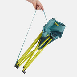 LOW FOLDING CAMPING CHAIR MH100 Yellow