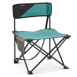 矮腳摺疊露營椅MH100 - 藍色