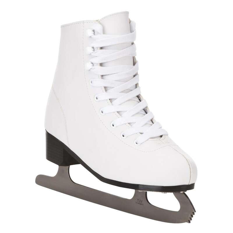 Eiskunstlaufschuhe Freizeit Eislaufen - Schlittschuhe 100 Damen OXELO - Eislaufen