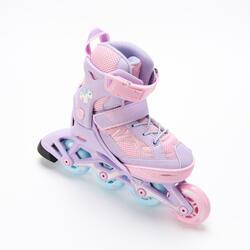 FIT 3 兒童滾軸溜冰鞋 (可調整4種尺寸) - 淡紫色