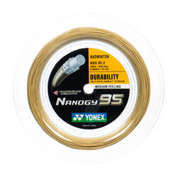 Badmintonsaite Nanogy 95 gelb