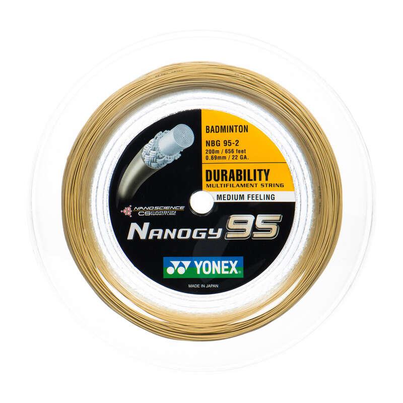 BADMINTONSTRÄNGAR Racketsport - Strängning Yonex Nanogy 95 YONEX - Badminton