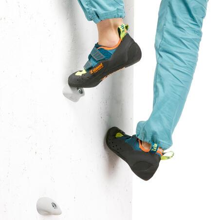 CLIMBING SHOES VERTIKA STRAP - ANISEED/BLUE