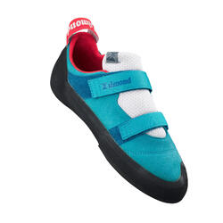 CHAUSSONS D'ESCALADE - ROCK+ TURQUOISE