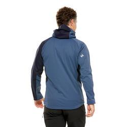 Casaco SOFTSHELL de Alpinismo HOMEM - ALPINISM Light Azul