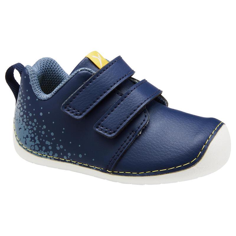 Chaussures bébé I LEARN bleu/jaune du 20 au 24